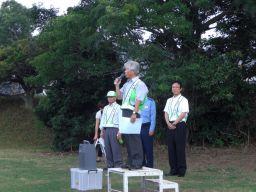 杉田連合会長開会の挨拶