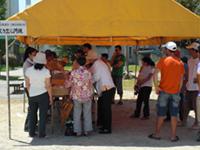 外国人対象地震防災訓練